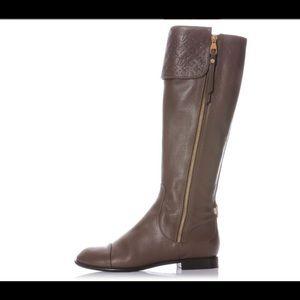 Louis Vuitton Empriente leather riding boots